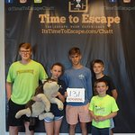 This team of kids saved Wolfie! Great work!