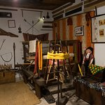 Part of the folklore museum in the traditional house.