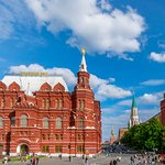 State Historical Museum, Kremlin on the right