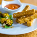 Chickpea Fries Before Guys Appetizer