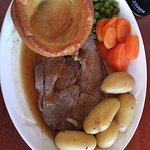 Lamb and Yorkshire Pudding