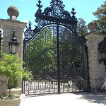 The gate at the Breakers