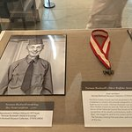 """Norman Rockwell modeling a Boy Scout uniform. A well deserved """"Silver Buffalo"""" award for NR."""