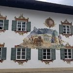 Typical artwork on houses