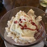 Eton mess, very small portion for £5.95