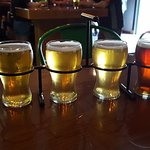 Flight sampler of excellent beer