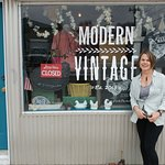 Welcome to Modern Vintage of Ne. Hope your stay in Lincoln is great!