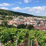 Beautiful view of a Grand Cru Village