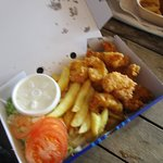 Whole Tail Scampi for £4.85.
