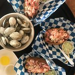 Steamers and lobster rolls.