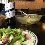bottomless salad and our wine choice