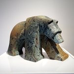 The Grizzly Bear Digs, Canadian Soapstone, Jason Carter