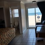 Our oceanfront room