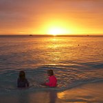 Seven Mile Beach Sunset