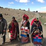 Tibetan nomad people