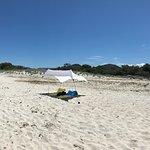 Saleccia Beach Site and Lotu Beach (no road access) view