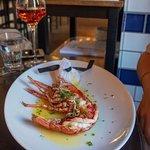 Hot half lobster - Scottish lobsters aren't the biggest