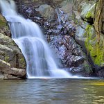Stoney Creek - the largest swimming hole under the falls