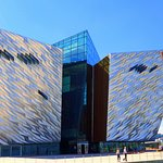 The exterior provides a powerful representation of the immense scale represented by the Titanic.