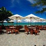 Beachfront dining