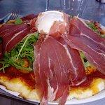 Pizza au goût d'Italie. Fantaqtique