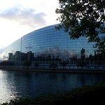 Vista sul Parlamento Europeo