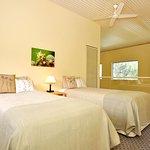 Tree Elle Retreat Lofthouse upstairs twin bedroom