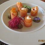 Les Aumônières de saumon farcies de faisselle