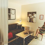 Lodge Amarante - Coin salon