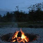 Stone Circle Communal Campfire area