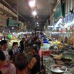 Fresh market, seafood market
