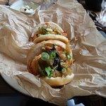 Langoustine tempura