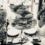 Bountiful seafood tower at Le. At Huitrea!  Merci!