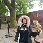 my daughter with Owl