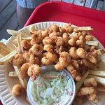 My husband got shrimp