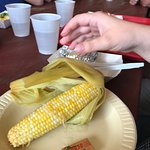 My daughter wanted corn and a potato
