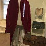 Reproduction of John Hancock's coat