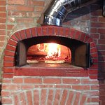 wood fired pizza over