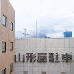 10階シングルルーム・ちょこっと桜島