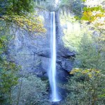 Latourell Falls in early October