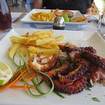Octopus lunch