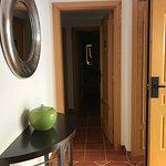 Entry way that joins the two bedroom suites