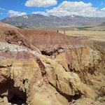 сказочные марсианские пейзажи на планете Земля