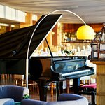 Piano in the restaurant