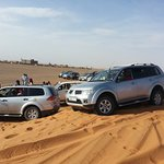 Excursion of a group with 4x4 adventure in the desert of merzouga desert