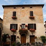 pretty house in Pienza