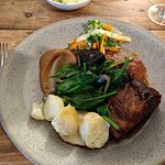 Duo of Pork (with Black Pudding)