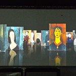 i quadri attraverso le immagini multimediali