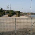 Area d'accesso alla diga