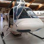 De kleinere helikopter